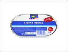 Aro filety z makreli 300g