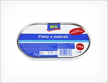 Aro filety z makreli 170g