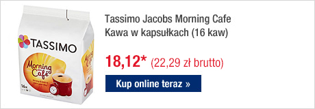 Tassimo Jacobs Morning Cafe Kawa w kapsułkach