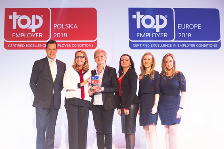 TOP Employer Polska 2018, TOP Employer Europe 2018!