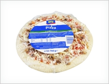 Aro pizza z pieczarkami 300g